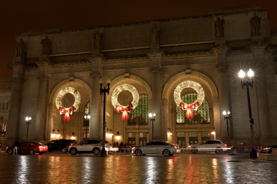 ユニオン駅ワシントンDC夜景写真1.jpg