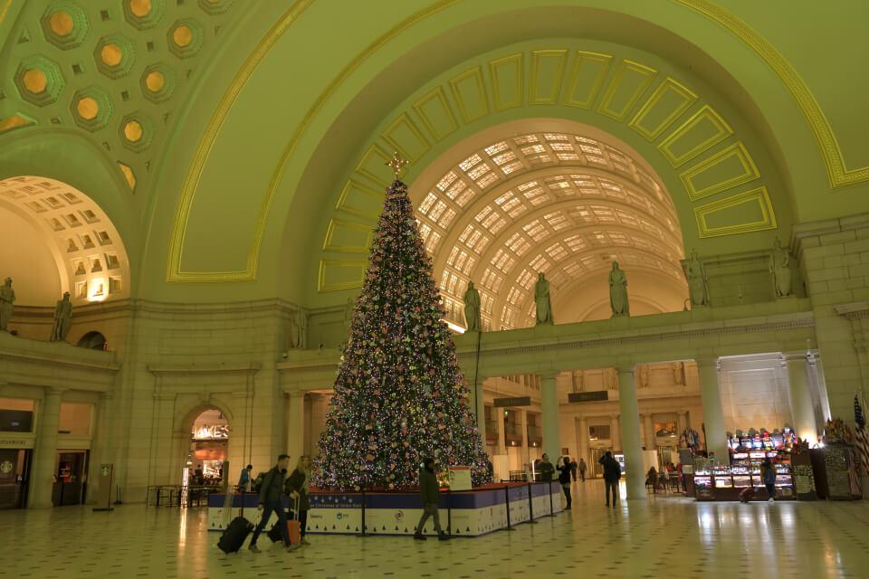 ユニオン駅ワシントンDC夜景写真2.jpg