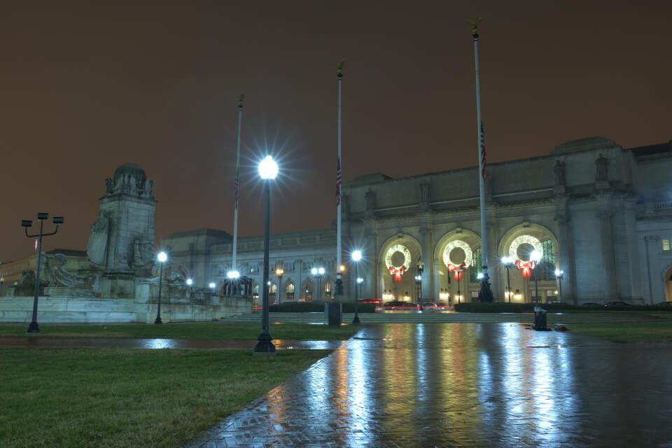 ユニオン駅ワシントンDC夜景写真3.jpg