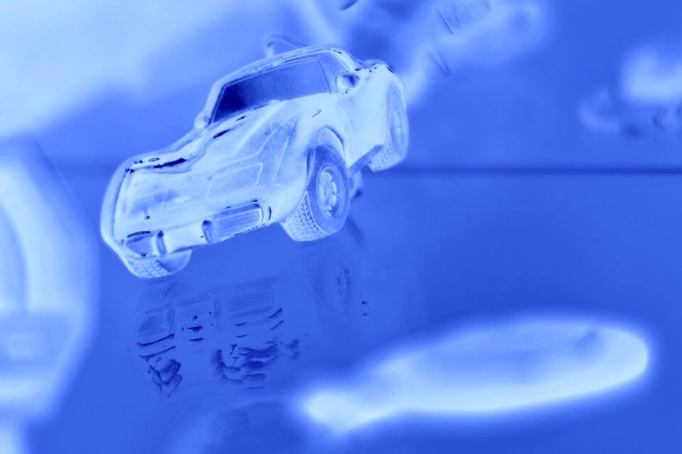 未来の車のカラーデザイン