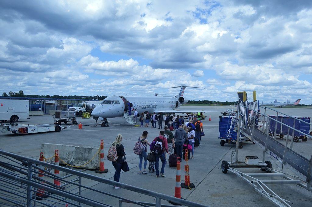 シャーロット空港写真