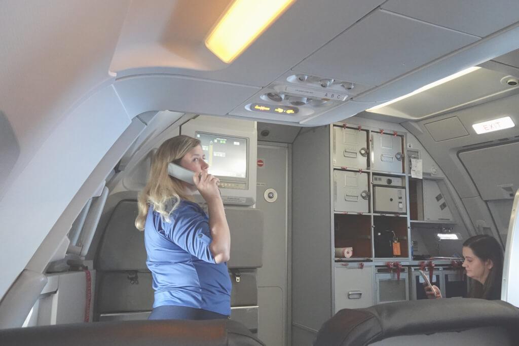アレジアント航空の搭乗体験写真