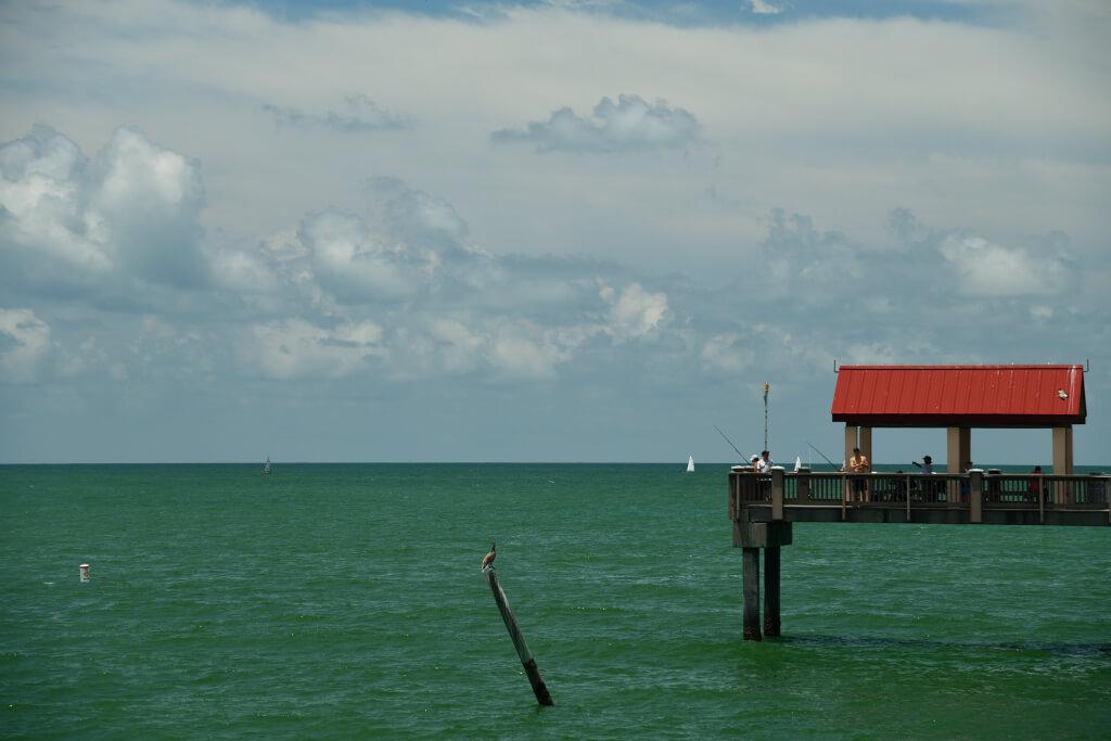 クリアウォータービーチ写真