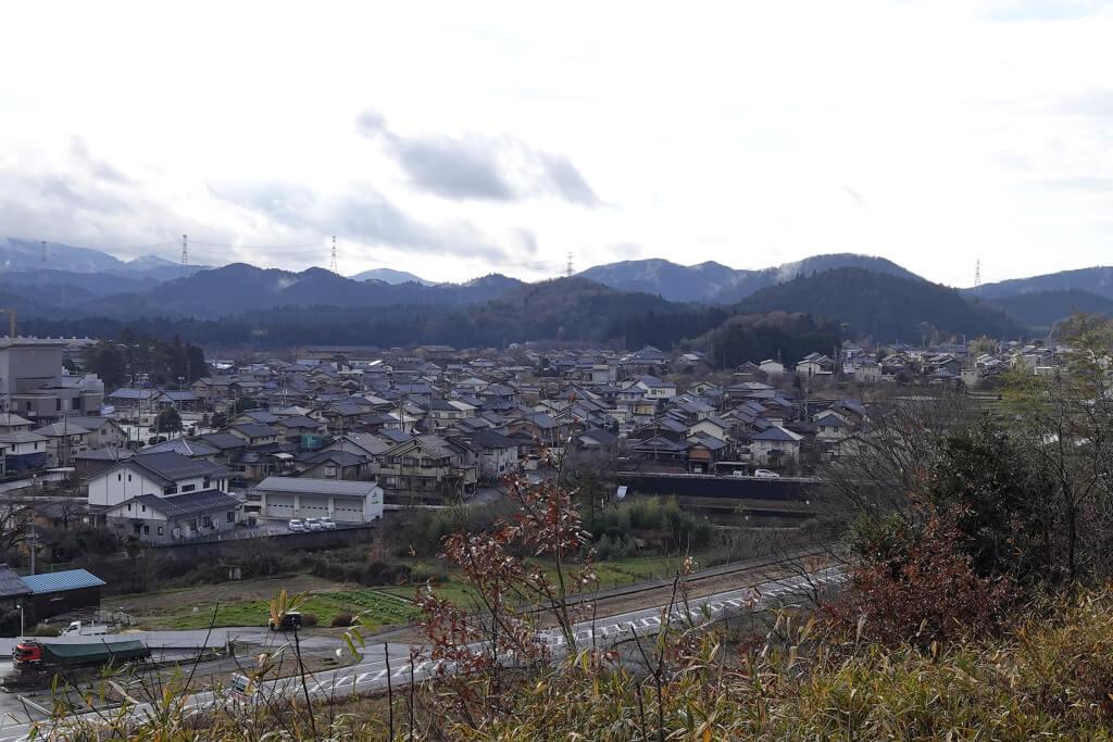 関ヶ原トレイルランニング写真.
