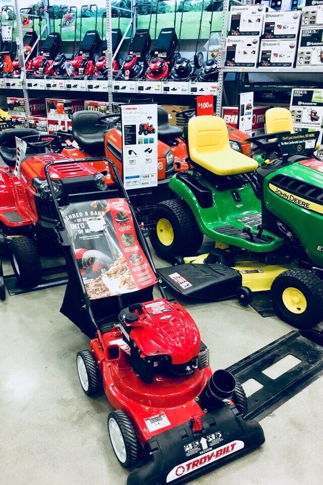 アメリカの芝刈り機