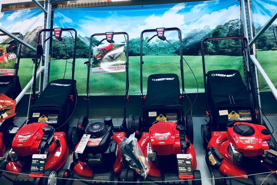 芝刈り機はアメリカの一大産業