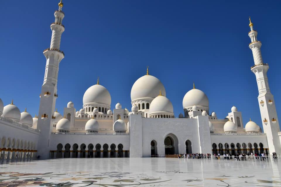 シェイク・ザイード・グランドモスクの写真