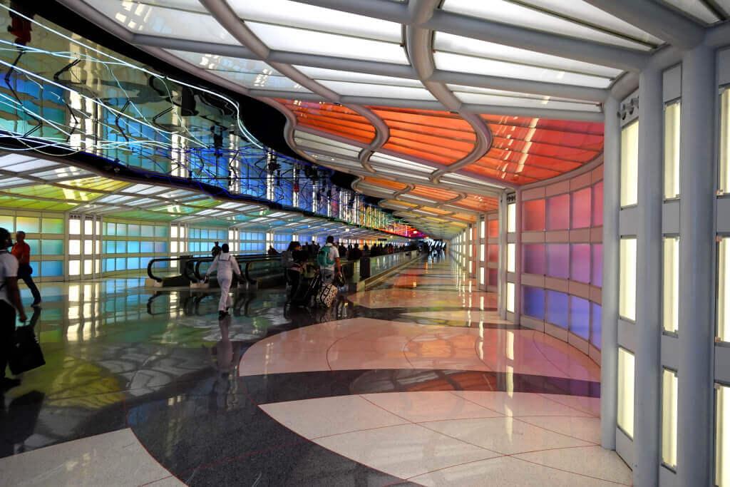 シカゴ・オヘア空港ターミナル写真