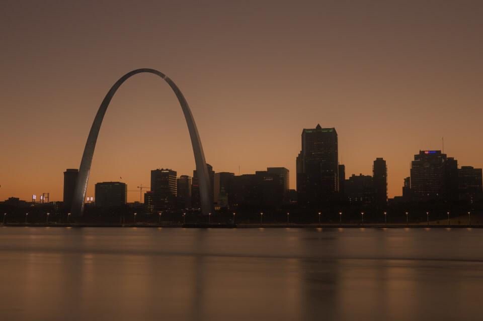 セントルイス・ミズーリ州ダウンタウンの観光名所写真