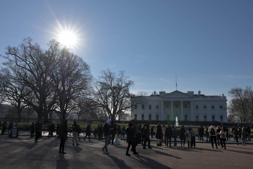 ホワイトハウスの写真