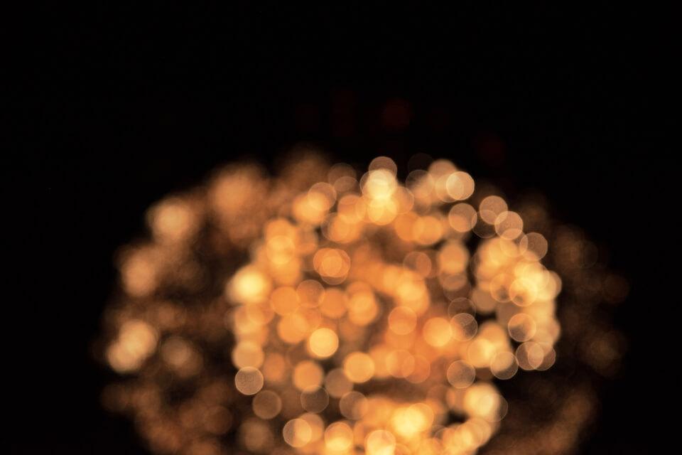 三好池の花火写真