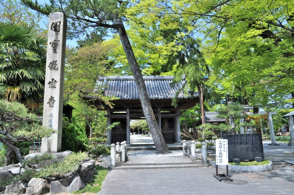 向源寺の十一面観音菩薩立像の写真