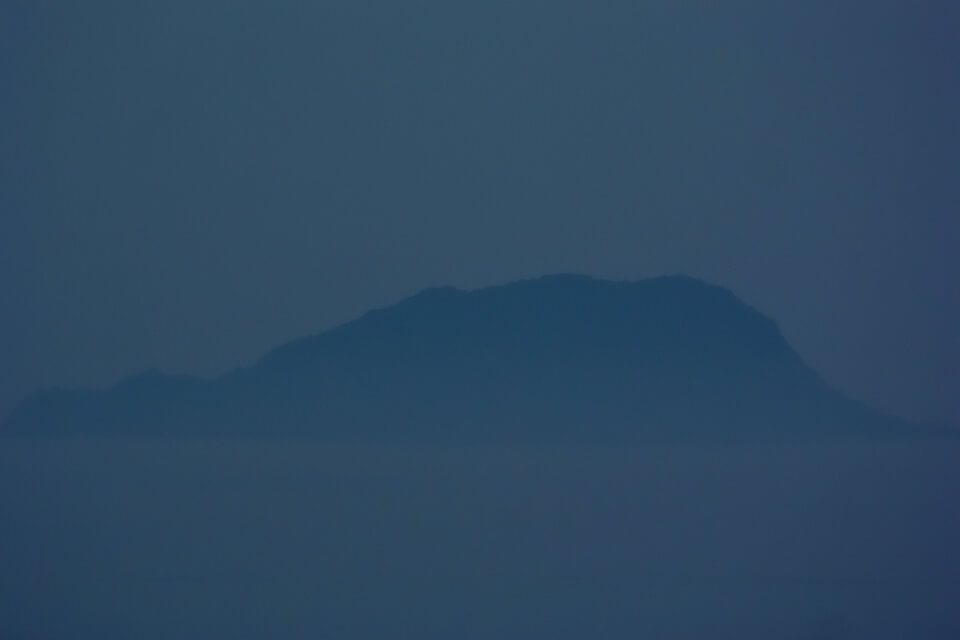 天橋立・傘松公園の夜景写真