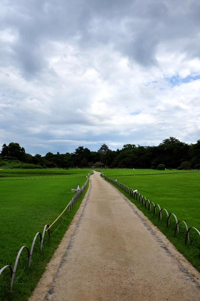 岡山後楽園・岡山城の写真