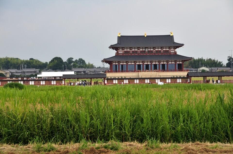 平城京跡・大極殿の写真