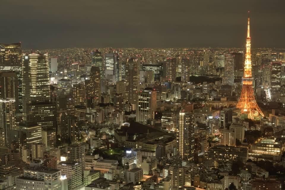 東京シティビュー夜景写真