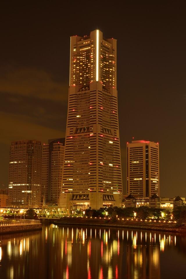 横浜みなとみらい夜景写真