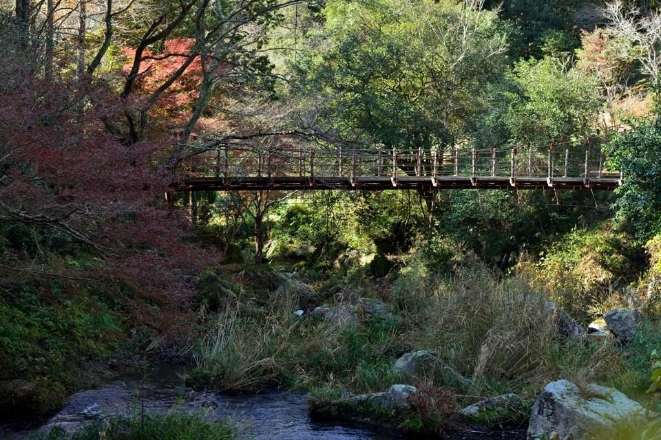 王滝渓谷の写真