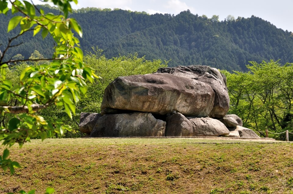 石舞台古墳の写真
