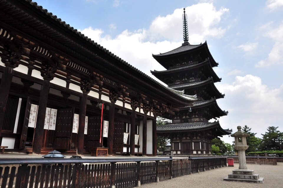 興福寺・五重塔の写真