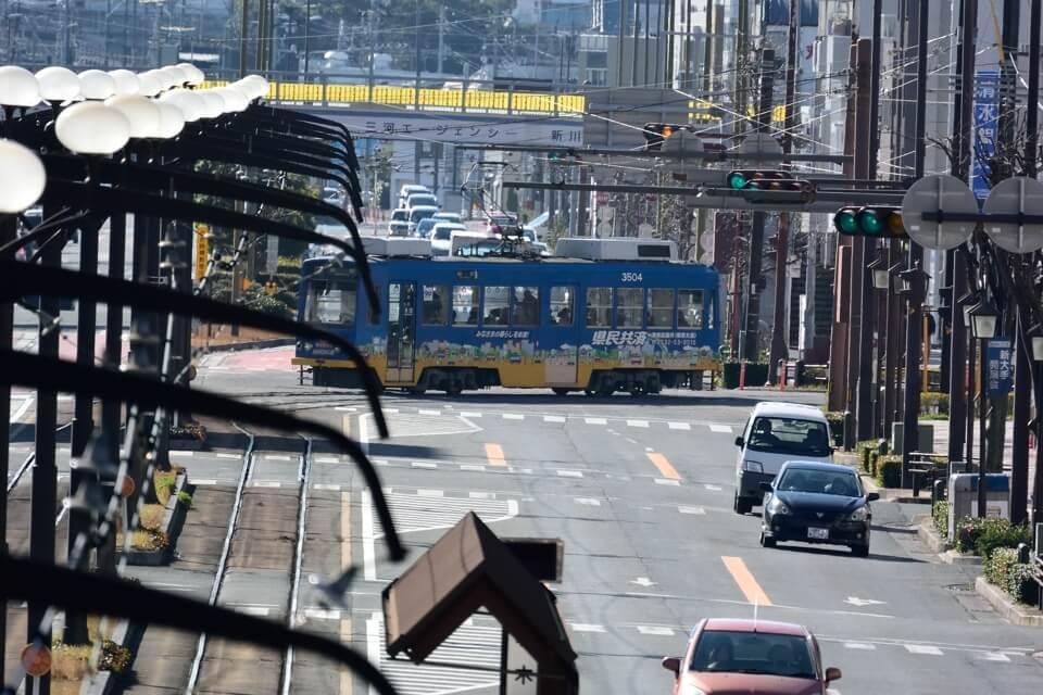 豊橋市の路面電車写真