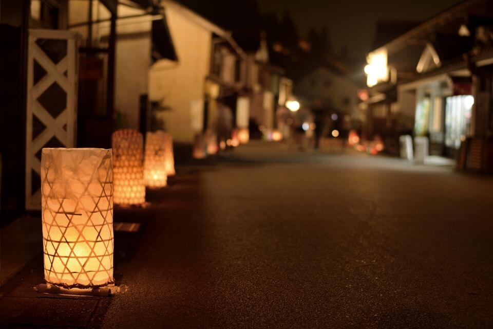 足助の夏祭り・たんころりんの夕涼み