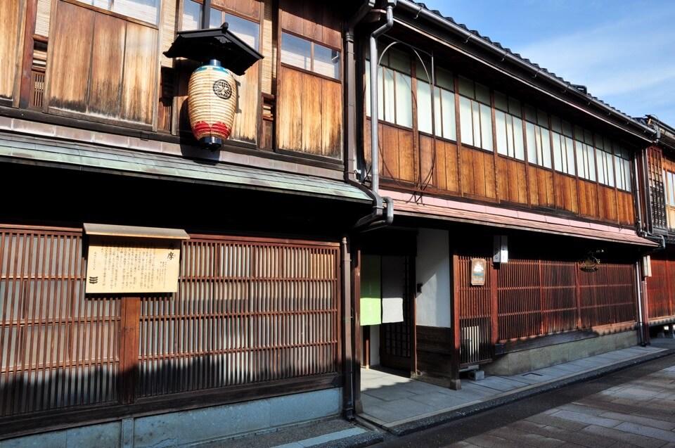 金沢ひがし茶屋街の観光写真