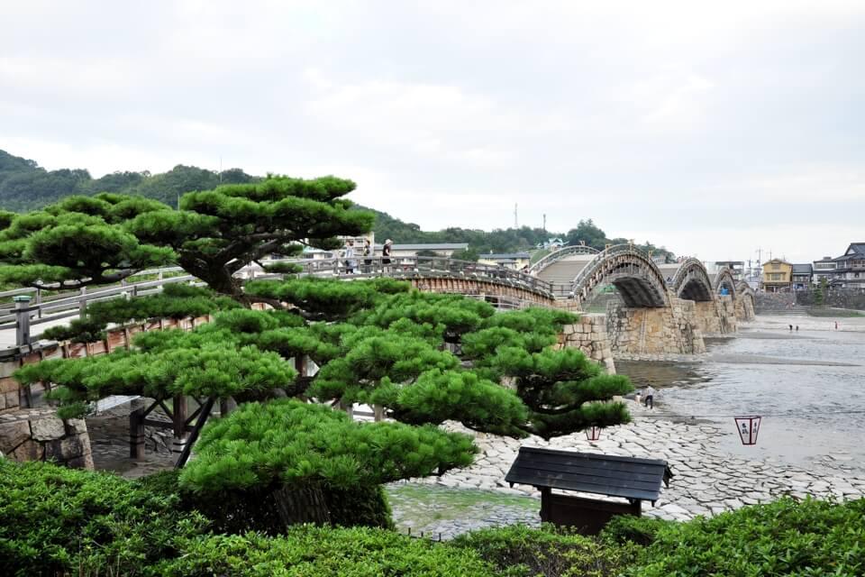 錦帯橋の写真