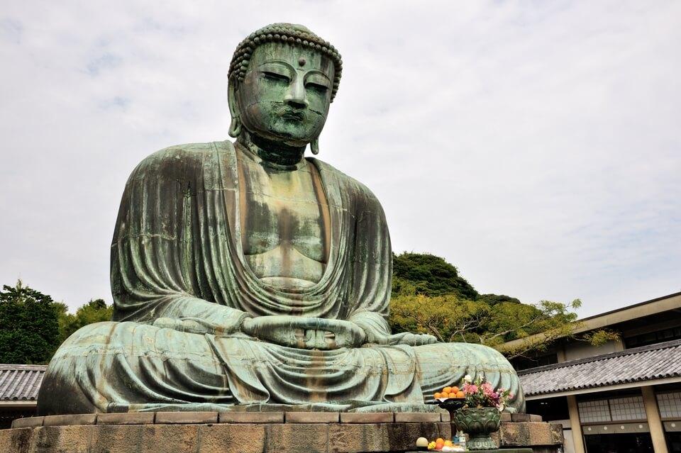 鎌倉の大仏の大きさは11mの写真