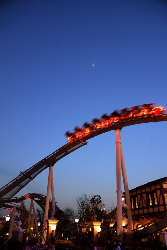 USJ夜景写真
