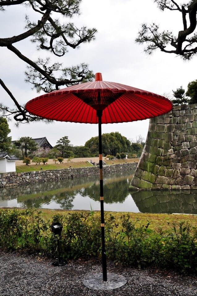 二条城の桜写真