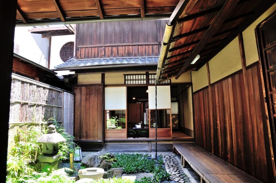 京都町屋の写真