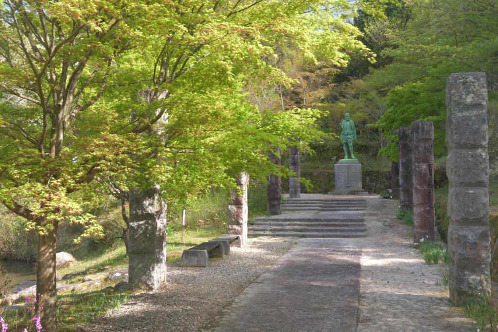 松平郷の春写真