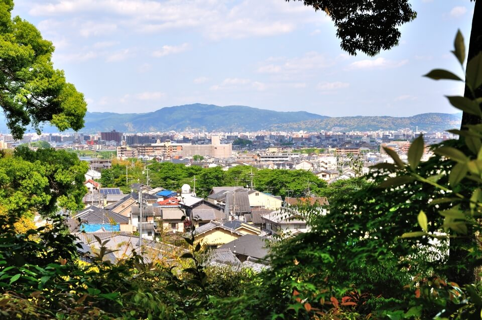 鈴虫寺・幸福地蔵の写真