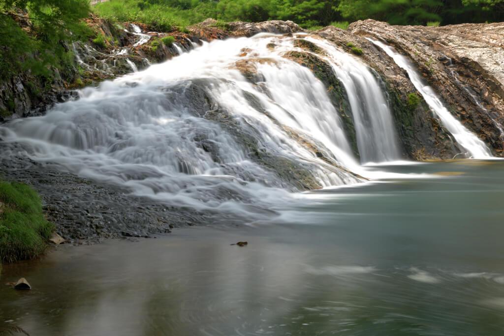 蔦の淵の滝写真