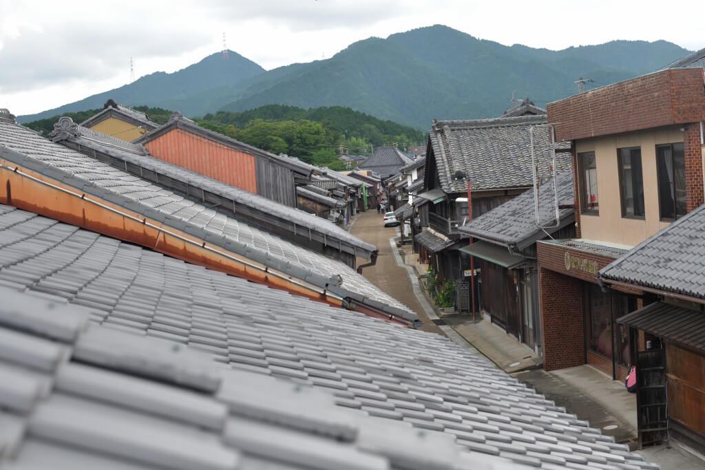 関宿の写真、東海道亀山市