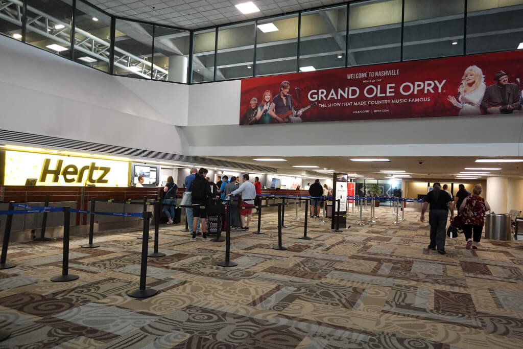 ナッシュビル空港(BNA)ターミナル写真