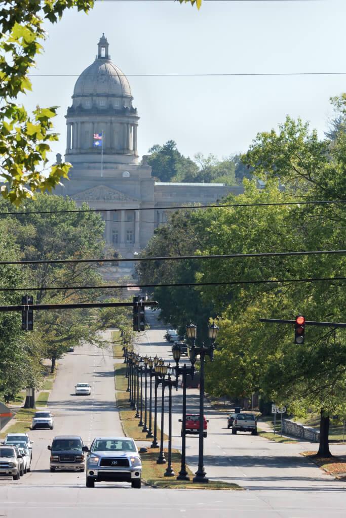 フランクフォートKY州議事堂写真