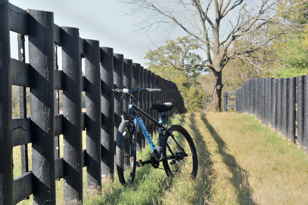 レガシートレイルの自転車活動の終わり