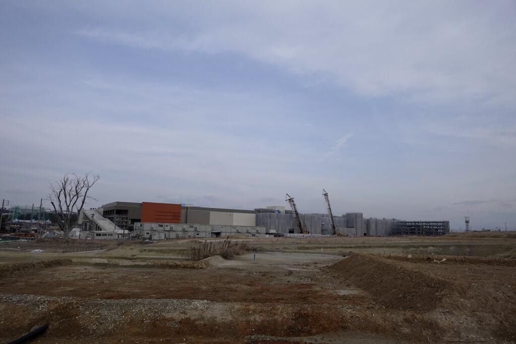 建設工事中写真ららぽーと東郷