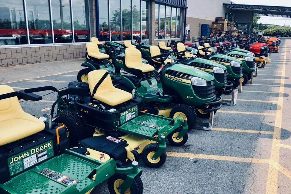 芝刈り機はアメリカの一大産業4