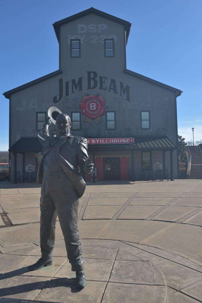 ジムビームのバーボン工場