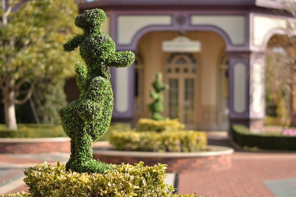 ディズニーランドは単焦点レンズで写真撮影