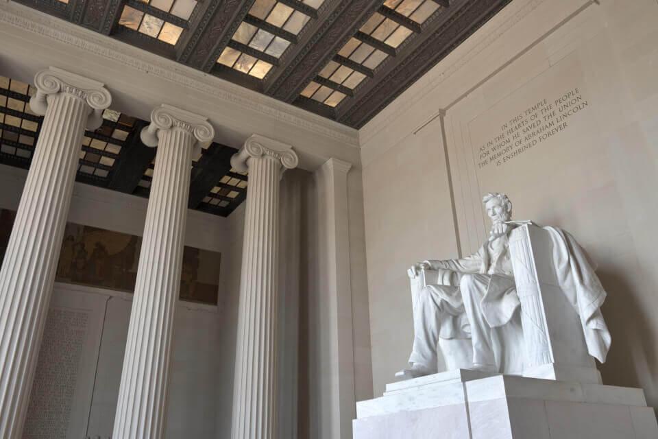 リンカーンメモリアルの写真