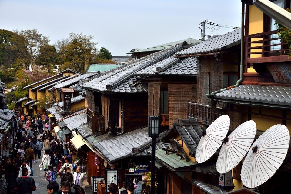 三年坂(産寧坂)・二年坂は京都の一眼レフ写真撮影スポット