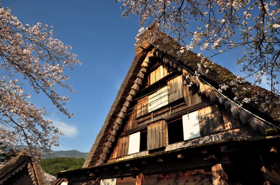 下呂温泉合掌村の観光写真