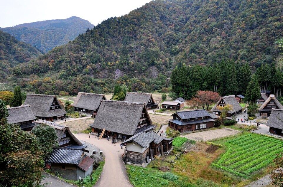 五箇山合掌集落の写真