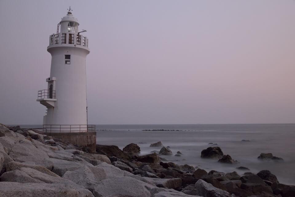 伊良湖岬灯台のマジックアワー