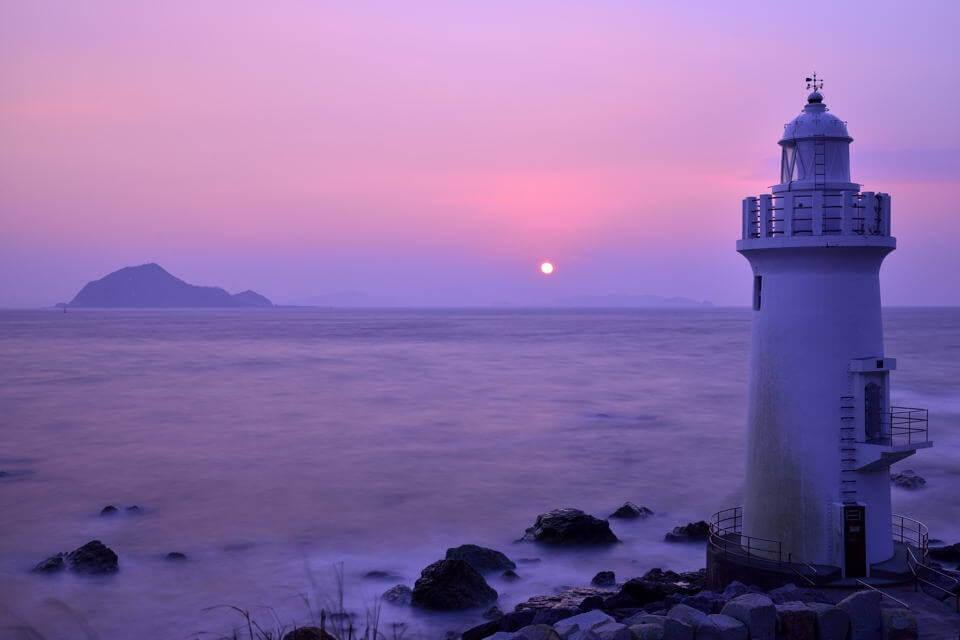 伊良湖岬灯台を写真に撮ろう