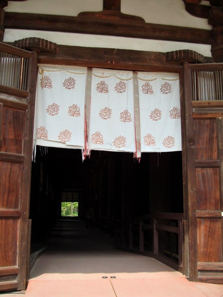 唐招提寺の瓊花写真